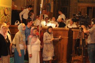 Фоторепортаж из Свято-Троицкого Ионинского монастыря о праздновании Светлого праздника Пасхи 12