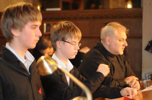 Фоторепортаж из Свято-Троицкого Ионинского монастыря о праздновании Светлого праздника Пасхи 13