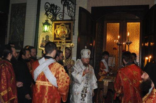 Фоторепортаж из Свято-Троицкого Ионинского монастыря о праздновании Светлого праздника Пасхи 29