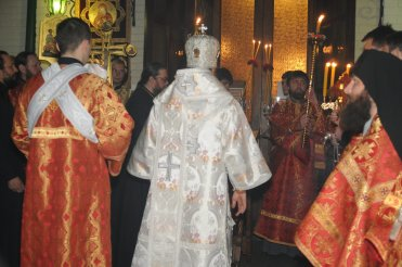 Фоторепортаж из Свято-Троицкого Ионинского монастыря о праздновании Светлого праздника Пасхи 31