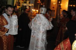 Фоторепортаж из Свято-Троицкого Ионинского монастыря о праздновании Светлого праздника Пасхи 39