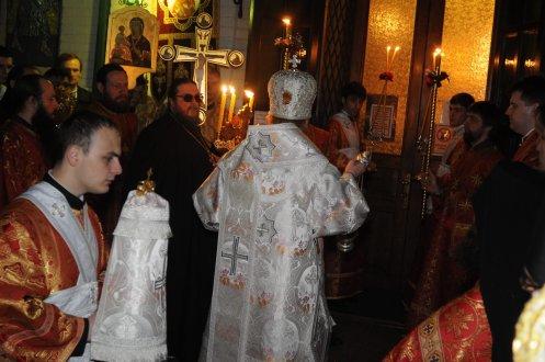 Фоторепортаж из Свято-Троицкого Ионинского монастыря о праздновании Светлого праздника Пасхи 40