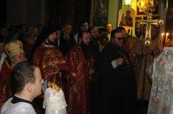 Фоторепортаж из Свято-Троицкого Ионинского монастыря о праздновании Светлого праздника Пасхи 45