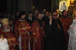 Фоторепортаж из Свято-Троицкого Ионинского монастыря о праздновании Светлого праздника Пасхи 46