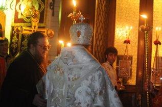 Фоторепортаж из Свято-Троицкого Ионинского монастыря о праздновании Светлого праздника Пасхи 51