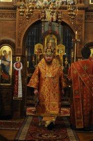 Фоторепортаж из Свято-Троицкого Ионинского монастыря о праздновании Светлого праздника Пасхи 56
