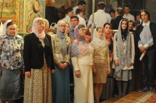 Фоторепортаж из Свято-Троицкого Ионинского монастыря о праздновании Светлого праздника Пасхи 59