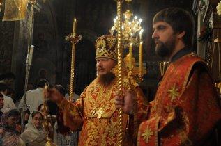 Фоторепортаж из Свято-Троицкого Ионинского монастыря о праздновании Светлого праздника Пасхи 60
