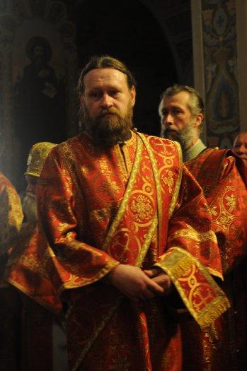 Фоторепортаж из Свято-Троицкого Ионинского монастыря о праздновании Светлого праздника Пасхи 63