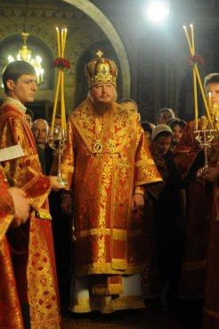 Фоторепортаж из Свято-Троицкого Ионинского монастыря о праздновании Светлого праздника Пасхи 69
