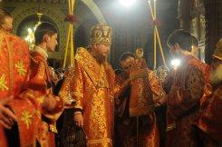 Фоторепортаж из Свято-Троицкого Ионинского монастыря о праздновании Светлого праздника Пасхи 72