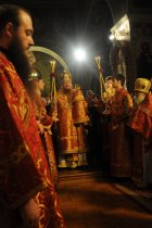 Фоторепортаж из Свято-Троицкого Ионинского монастыря о праздновании Светлого праздника Пасхи 75