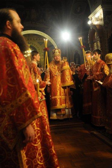 Фоторепортаж из Свято-Троицкого Ионинского монастыря о праздновании Светлого праздника Пасхи 80