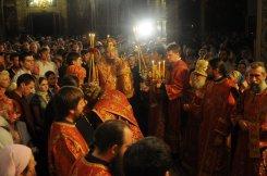 Фоторепортаж из Свято-Троицкого Ионинского монастыря о праздновании Светлого праздника Пасхи 84