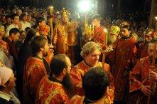 Фоторепортаж из Свято-Троицкого Ионинского монастыря о праздновании Светлого праздника Пасхи 85