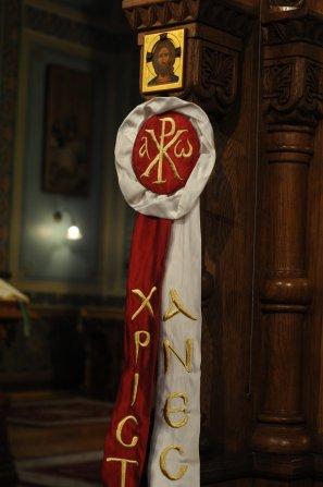 Фоторепортаж из Свято-Троицкого Ионинского монастыря о праздновании Светлого праздника Пасхи 88