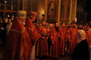 Фоторепортаж из Свято-Троицкого Ионинского монастыря о праздновании Светлого праздника Пасхи 94