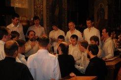 Фоторепортаж из Свято-Троицкого Ионинского монастыря о праздновании Светлого праздника Пасхи 97