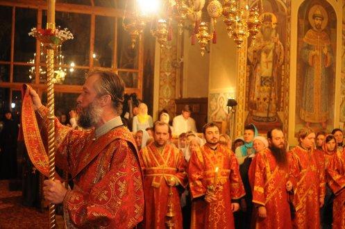 Фоторепортаж из Свято-Троицкого Ионинского монастыря о праздновании Светлого праздника Пасхи 99
