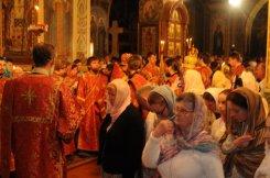 Фоторепортаж из Свято-Троицкого Ионинского монастыря о праздновании Светлого праздника Пасхи 101