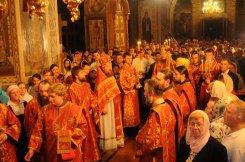 Фоторепортаж из Свято-Троицкого Ионинского монастыря о праздновании Светлого праздника Пасхи 102