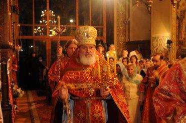 Фоторепортаж из Свято-Троицкого Ионинского монастыря о праздновании Светлого праздника Пасхи 106