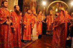 Фоторепортаж из Свято-Троицкого Ионинского монастыря о праздновании Светлого праздника Пасхи 109