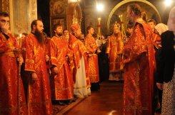 Фоторепортаж из Свято-Троицкого Ионинского монастыря о праздновании Светлого праздника Пасхи 112