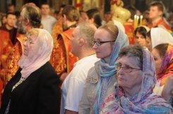 Фоторепортаж из Свято-Троицкого Ионинского монастыря о праздновании Светлого праздника Пасхи 113