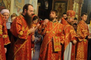 Фоторепортаж из Свято-Троицкого Ионинского монастыря о праздновании Светлого праздника Пасхи 116