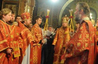 Фоторепортаж из Свято-Троицкого Ионинского монастыря о праздновании Светлого праздника Пасхи 117