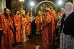 Фоторепортаж из Свято-Троицкого Ионинского монастыря о праздновании Светлого праздника Пасхи 122