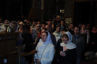 Фоторепортаж из Свято-Троицкого Ионинского монастыря о праздновании Светлого праздника Пасхи 128