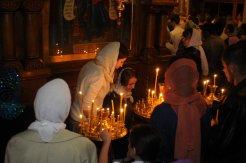 Фоторепортаж из Свято-Троицкого Ионинского монастыря о праздновании Светлого праздника Пасхи 151