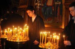 Фоторепортаж из Свято-Троицкого Ионинского монастыря о праздновании Светлого праздника Пасхи 155