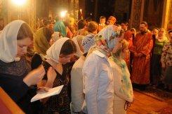 Фоторепортаж из Свято-Троицкого Ионинского монастыря о праздновании Светлого праздника Пасхи 160