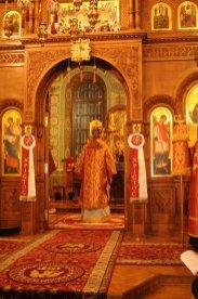 Фоторепортаж из Свято-Троицкого Ионинского монастыря о праздновании Светлого праздника Пасхи 166