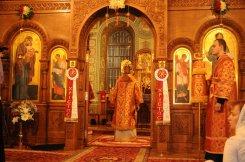 Фоторепортаж из Свято-Троицкого Ионинского монастыря о праздновании Светлого праздника Пасхи 169