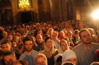 Фоторепортаж из Свято-Троицкого Ионинского монастыря о праздновании Светлого праздника Пасхи 174
