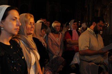 Фоторепортаж из Свято-Троицкого Ионинского монастыря о праздновании Светлого праздника Пасхи 178