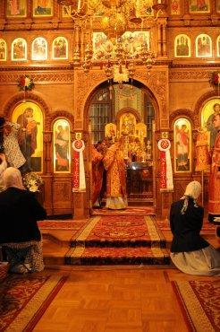 Фоторепортаж из Свято-Троицкого Ионинского монастыря о праздновании Светлого праздника Пасхи 184