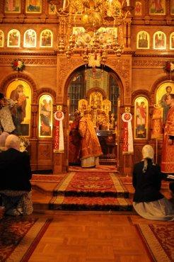 Фоторепортаж из Свято-Троицкого Ионинского монастыря о праздновании Светлого праздника Пасхи 186