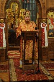 Фоторепортаж из Свято-Троицкого Ионинского монастыря о праздновании Светлого праздника Пасхи 214