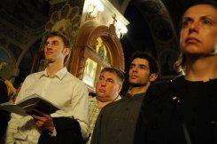 Фоторепортаж из Свято-Троицкого Ионинского монастыря о праздновании Светлого праздника Пасхи 233