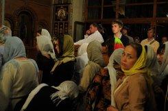 Фоторепортаж из Свято-Троицкого Ионинского монастыря о праздновании Светлого праздника Пасхи 236