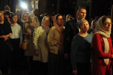 Фоторепортаж из Свято-Троицкого Ионинского монастыря о праздновании Светлого праздника Пасхи 238