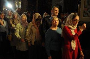 Фоторепортаж из Свято-Троицкого Ионинского монастыря о праздновании Светлого праздника Пасхи 242