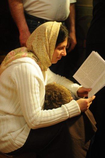 Фоторепортаж из Свято-Троицкого Ионинского монастыря о праздновании Светлого праздника Пасхи 253