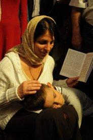 Фоторепортаж из Свято-Троицкого Ионинского монастыря о праздновании Светлого праздника Пасхи 263