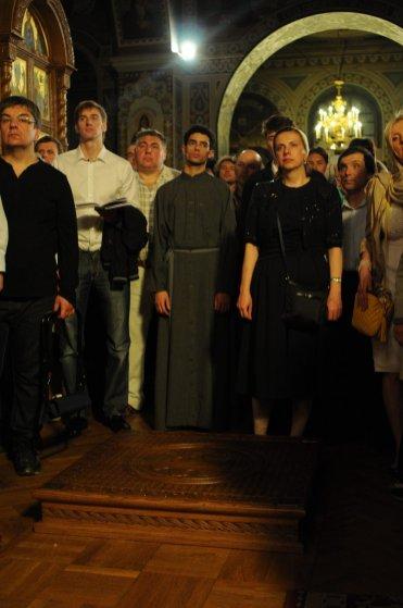 Фоторепортаж из Свято-Троицкого Ионинского монастыря о праздновании Светлого праздника Пасхи 266